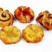 Француские булочки с начинками ассорти на сливочном масле